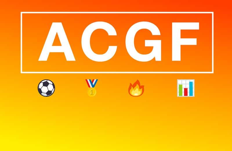 ACGF - Meilleurs buteurs